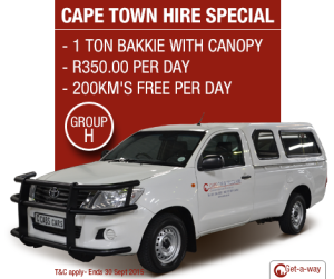 1 Ton Bakkie with canopy